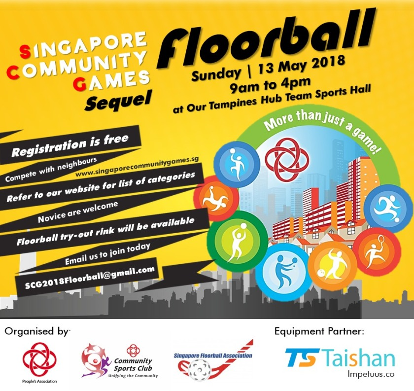 SCG Floorball Poster
